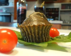 Špenátový muffin